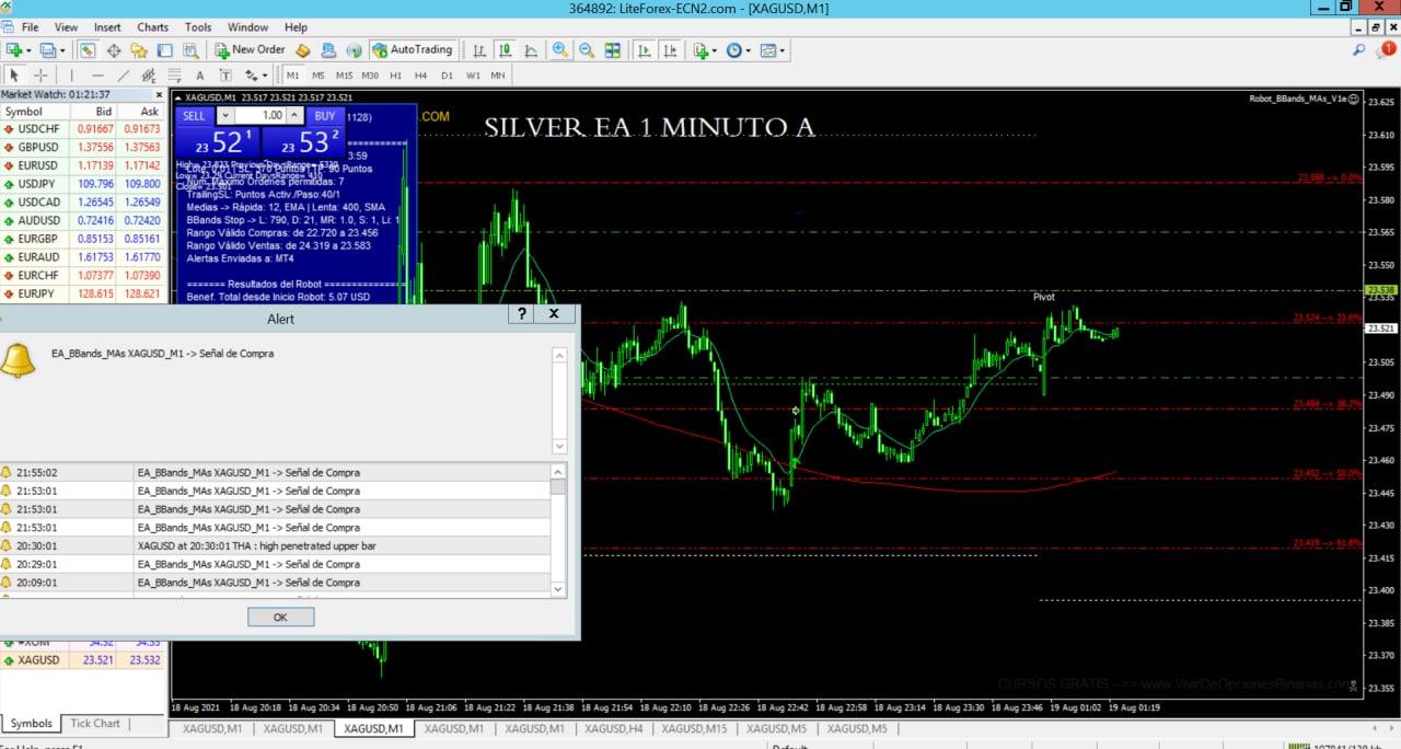 Interfaz Software Silver EA